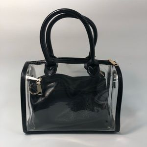 Handbags - Clear Vinyl Gameday Bag